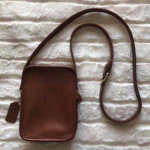 Vintage coach camera bag or purse